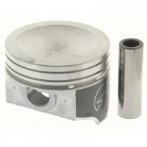 "Hypereutectic Cast Alloy Dish Top Piston Set : 0.000"" 360 sml block"