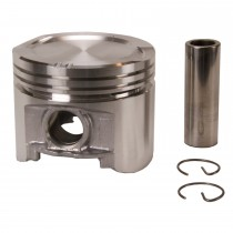 "Cast alloy Flat top Piston set : 318 Poly : .040"" / 3.950"