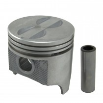 "Powerforged Cast Flat Top Piston Set : 0.030"" 340 sml block"