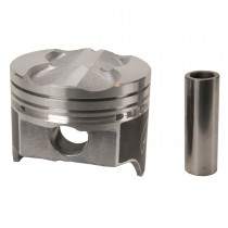 Hypereutectic Cast Flat Top Piston Set : sml Block 360 .040""