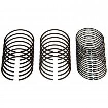 "Speed-Pro Plasma Moly Piston Ring Set : .000"" Std 360ci small block"