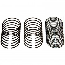 "Speed-Pro Plasma Moly Piston Ring Set : .035"" 360ci small block"