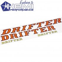 DRIFTER Callout Name Decal Set AMARANTE RED, DESERT ORANGE, & LEMON TWIST IMG_7777 Small.jpg