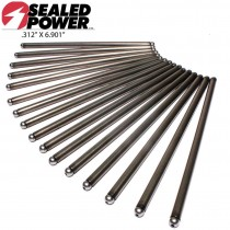 "Hardened Push Rod Push Rod :  suit Small Block Magnum 318-360 (Ball and Ball Length: 6.90"" x 5/16"")"