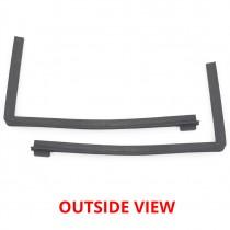Rear Opening Quarter Glass Seal Set : suit VJ/VK/CL Charger