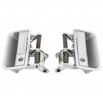 Front Exterior Door Handle Set (cross-hatch fascia) : suit VJ/VK/CL/CM