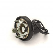 Single Filament Light Socket Globe Holder : hole dia. 28mm