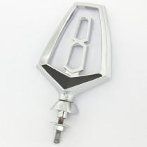 """Reproduction """"V8"""" Bonnet Ornament (hollow) : suit VF/VG (ridged pedestal base)"""