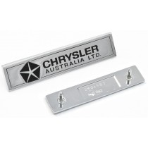 Chrysler Australia Ltd Plate Badge Enlarged IMG_3666.jpg