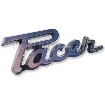 "Reproduction ""Pacer"" Dash Badge : suit VF/VG"