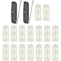 Rocker Molding Clip Set : 1968-70 B-Body (Except Charger)