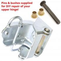 Package - New Lower Door Hinge & Repair Kit for Upper Hinge : suit VF/VG Hardtop (& VE/VF/VG)