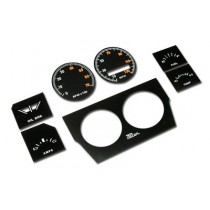 Instrument Face Restoration Decal Package : suit VG Pacer Sports Dash (MPH)