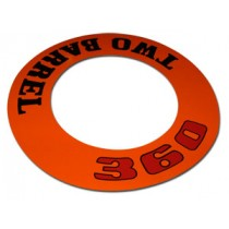"""360 Two Barrel"" Air Cleaner Decal"