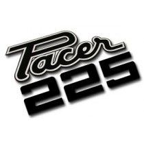 """Pacer 225"" Decal : suit VF Pacer (White)"