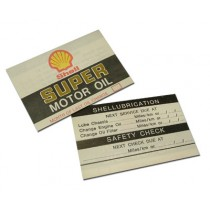 Shell-Service Restoration Decal