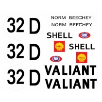 Norm Beechey VG Pacer Homologation Decal Kit