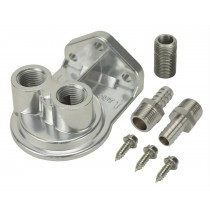 Derale Remote Oil Filter Mount : suit Small Block