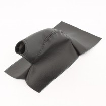 Hand Brake Boot Cover, as Factory in Vinyl : Black
