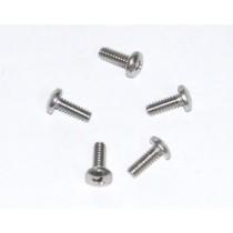 Stainless Steel Body Screw Set (5x) : 3/16'' X 1/2'' Bsw Panhead