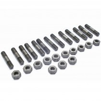 Case Hardened Manifold Stud & Nut Set : suit Hemi 6 & Slant 6