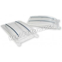 Reproduction Front Indicator Lens & Chrome Molding Set : suit VF/VG (HP's New Mold-Injected Lens Range)