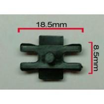 Body Molding Clip : 18.5 x 8.5mm