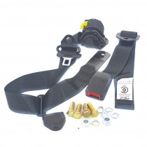 Front Retractable Lap-Sash Seat Belt : suit bench seats (webbed adjustable)