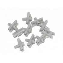 Universal Plastic Clip : Push Pin Type : suit 7mm molding strip