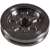 Romac Performance Series Harmonic Balancer : Steel/Steel : suit Slant 6 225ci (timing case with spot-welded timing tab)