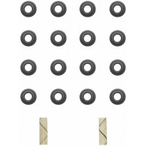 Fel-Pro Valve Stem Seal Set : suit Small Block Magnum