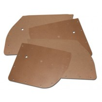 Door Card Backing Board Front & Rear Set : suit RV1/SV1