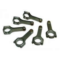 Performance Forged Steel H-Beam Con Rod Set  : suit Hemi 6 (Includes 3/8¨ ARP2000 cap screws & bronze small end bush)