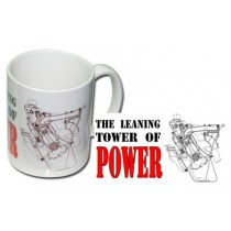 Coffee Mug : Slant 6 : The Leaning Tower Of Power