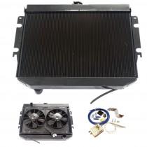 "26"" Fabricated Radiator & 11"" Twin Thermal Fan Package : Suit Hemi 6"