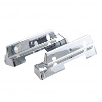 Reproduction Chrome Rear Interior Armrest Base Set : suit VH/VJ/VK/CL Charger & VF/VG Hardtop