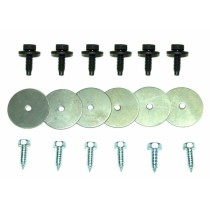 Front Fender Splash Panel Retainer Washer, Bolt & Screw Set