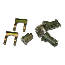 Keyed-alike Ignition Barrel & Door Lock Cylinder Set : VC-vg