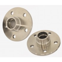 "Zinc coated Billet Steel Disc Brake Hub : suit VG only (4.0"" PCD with large bearings)"