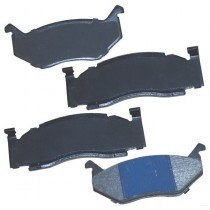 "Brake Pad Set : 1973-1989 A-Body / B-body / C-body / E-body : FRONT WITH ""Sliding Calipers"" (Semi-Metallic)"