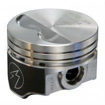 "Hypereutectic Cast Alloy Flat Top Piston Set : Small Block 360ci : Size 4.040"" (0.040"") Compression height 1.660"" (with two valve reliefs, press-fit or floating)"