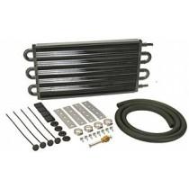 Derale Automatic Transmission Oil Cooler Kit : Medium Rectangular