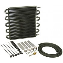Derale Automatic Transmission Oil Cooler Kit : Large Square