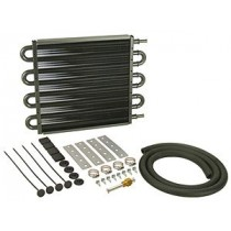 Derale Automatic Transmission Oil Cooler Kit : Medium Square