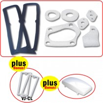 Body Gasket & Lens Seal Set (Includes bonus items!) : suit VJ/VK/CL Charger
