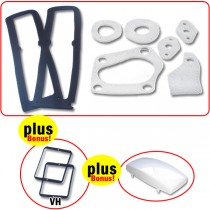 Body Gasket & Lens Seal Set (Includes bonus items!) : Suit VH Charger