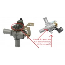 Reproduction Die Cast Cable Operated Heater Tap (Water Valve) : suit AP5/AP6/VC/VF & Six Pack