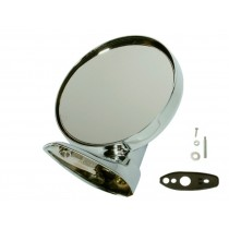 "Factory Style Round Chrome Mirror ""USA Import"" - Suit VE/VF/VG - RIGHT (NON-Remote)"