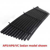 Rear Venetian Blinds : suit VF/VG Hardtop (Black)