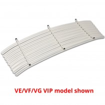 Rear Venetian Blinds : suit VF/VG VIP with small window (White)